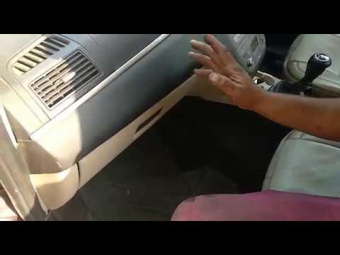 how to clean AC filter cabin filter on Fiat Linea