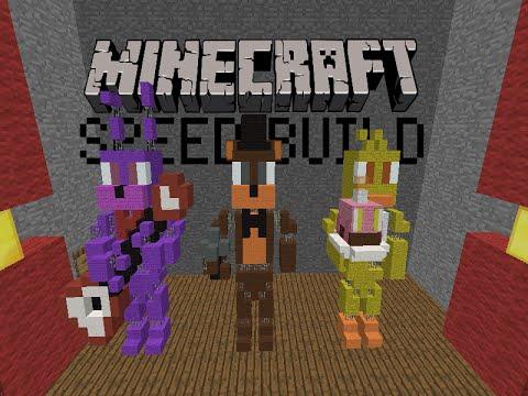 [Minecraft Speed Build] - Fnaf Animatronics (Old)