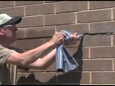 Repairing Mortar Joints using Sakrete Mortar Mixes