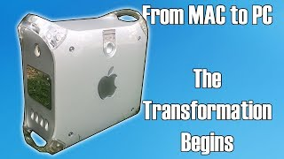 The $25 Mac Teardown - From Mac To Gaming PC Part 1