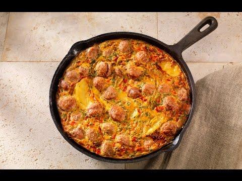 How to Make Sausage And Potato Frittata
