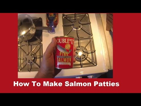 How To Prepare Salmon Patties for Frying