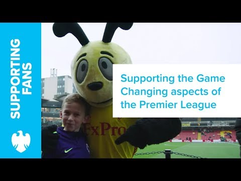 Frank Lampard on the Mascot Experience | Barclays
