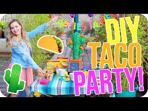 DIY Fiesta Party! Food, Decor & More!