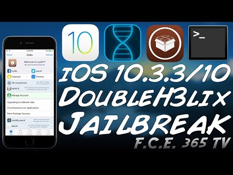 NEW DoubleH3lix JAILBREAK (64-Bit Pre i7 iOS 10.3.3/10 - STABLE WITH CYDIA)