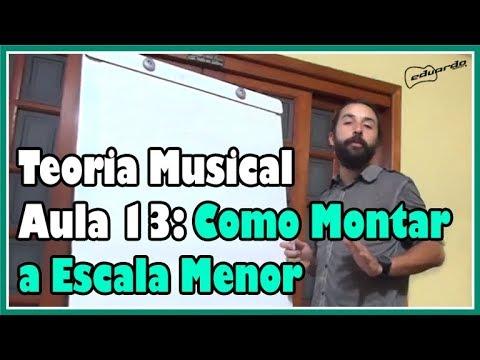 Curso de Teoria Musical - Aula 13: Como Montar a Escala Menor l Aula#101
