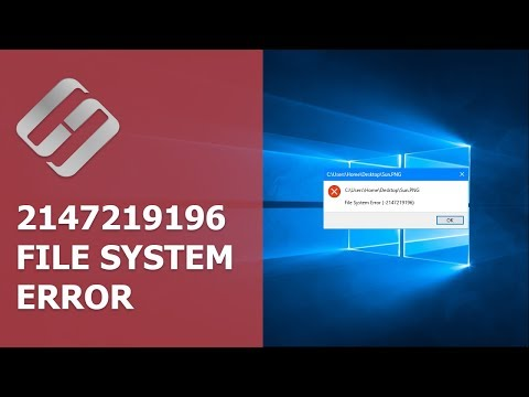 What is Error 2147219196 in Windows 10, 8 or 7 and How to Fix It 🐞🖥️🛠️