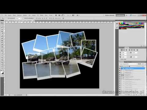 Jak zrobić kolaż w Photoshop CS5 ? / How to make a collage in Photoshop CS5 ?