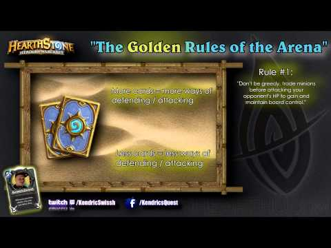 Hearthstone Tips: The Golden Rules of Hearthstone's Arena