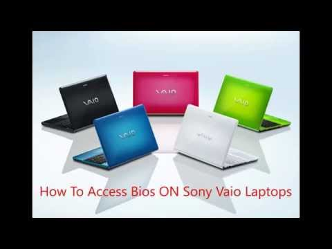 How To Access Bios ON Sony Vaio Laptops