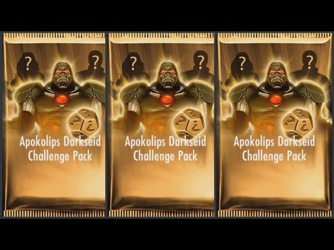 APOKOLIPS DARKSEID CHALLENGE PACK OPENING | Injustice Gods Among Us Gameplay (iOS/Android)