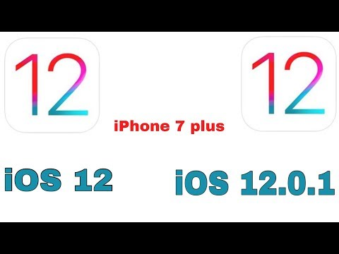 iOS 12 vs iOS 12.0.1quick Speed test | Boot time On iPhone 7 Plus | iSuperTech