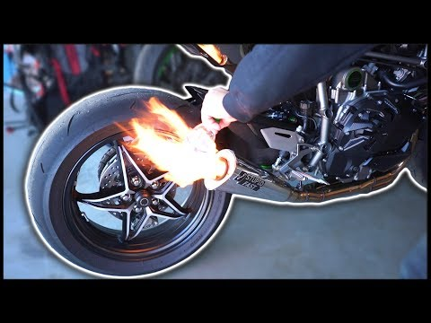 H2 Exhaust Flames *NOT SAFE* 😬🔥