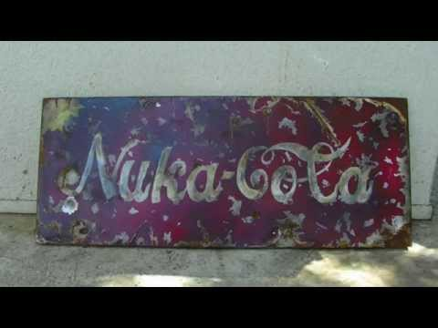 Fallout Vintage Nuka Cola Sign