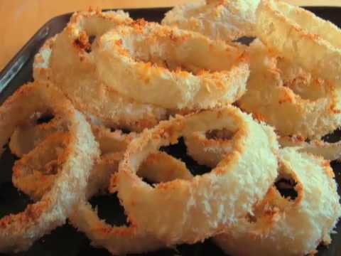 Oven-Fried Onion Rings aka