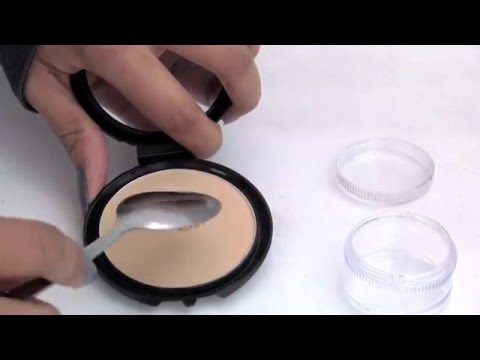 DIY Loose Powder For Baking Your Face (Cheap,Quick,Easy)   SilasQiu