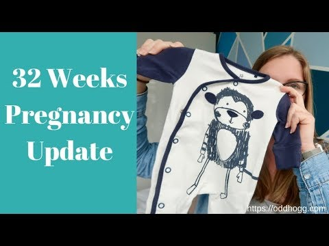 32 Weeks Pregnant   Preeclampsia Check, Diabetes Wins and Preparing For Baby   Pregnancy Update
