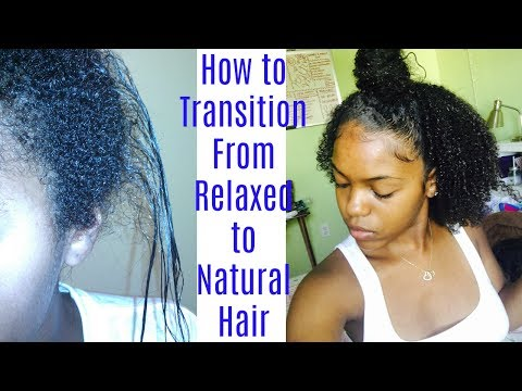 How to Transition from Relaxed to Natural Hair
