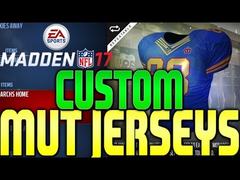 ITS LIT MADDEN 17 LAUNCH BUNDLE OPENING, CUSTOM MUT 17 JERSEYS NOW IN MADDEN 17