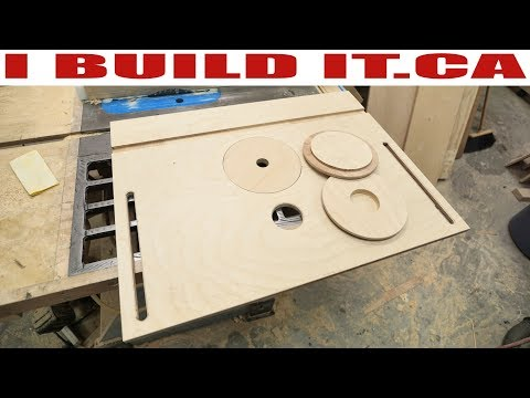 Making The Top For My Router Table