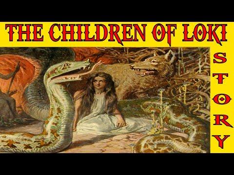 The Story of Loki's Children The Viking God Told by Tyrkir Viking Poet