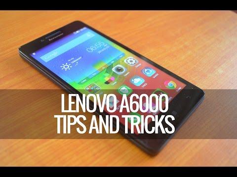 Lenovo A6000 (Plus) Tips and Tricks