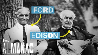 Thomas Edison's road trip with his famous friends