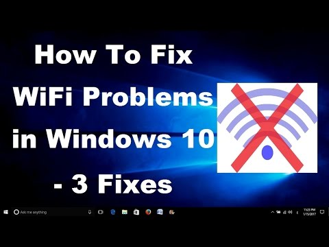 How To Fix WiFi Problems in Windows 10 - 3 Fixes