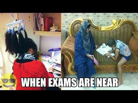 When Exams Are Near