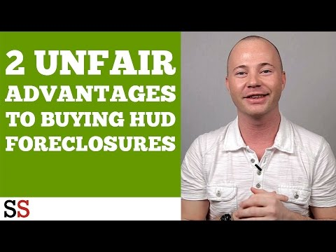 2 Unfair Advantages to Buying HUD Foreclosures