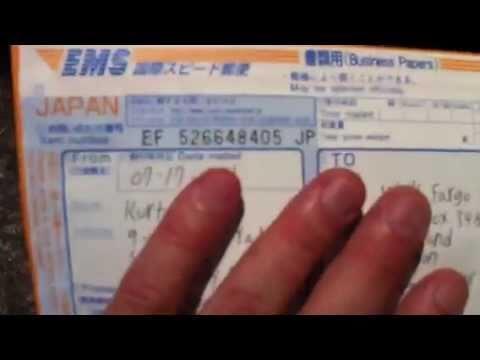Japan EMS Airmail