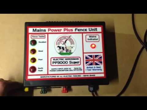 Electric Herdsman PP3000 Mains Energiser