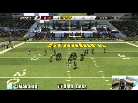 Madden 25 PS4 Gameplay -  DEM DIRTY BOYS! | Madden 25 Online Ranked Match | iMAV3RIQ