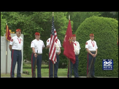Westfield honors veterans with a parade and ceremony on Memorial Day