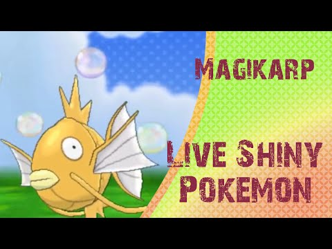 [Live] Shiny Magikarp at 99 Chain Fishing Encounters | Pokemon Y