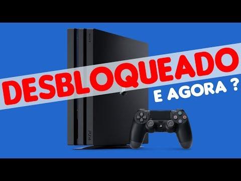 PS4 DESBLOQUEADO ! E AGORA ?