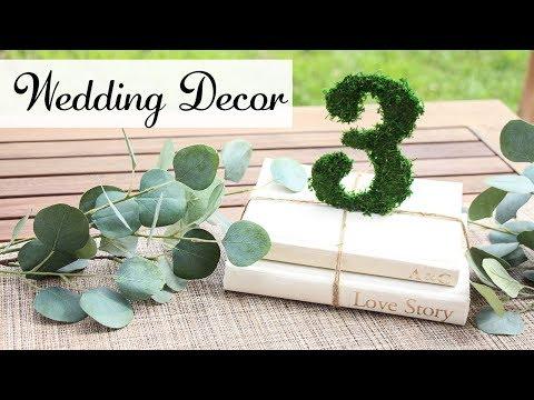 DIY Wedding Decor - Dollar Tree