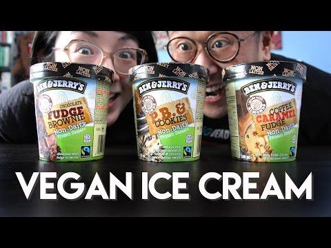 BEN & JERRY'S Non-dairy Ice Cream Taste Test & Review