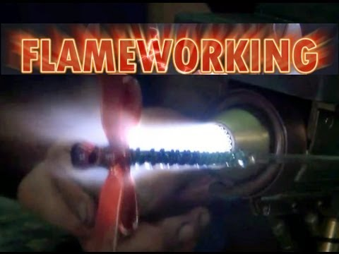 Flameworking - Making a Glass Dragonfly
