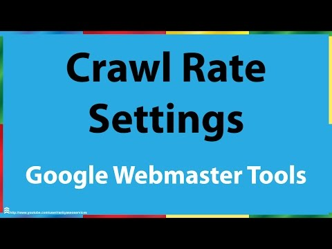 Google Search Console Crawl Rate Setting