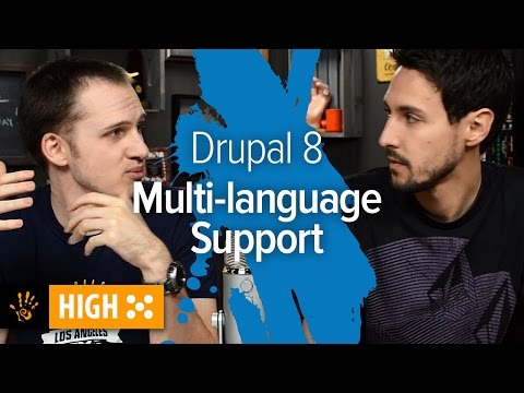 The Best Features of Drupal 8 - Multi-Language