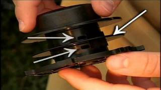 как заправить леску в катушку триммера не разбира материалом для