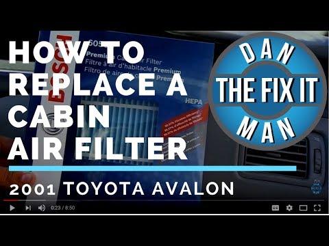 2001 Toyota Avalon Cabin Air Filter - Bosch