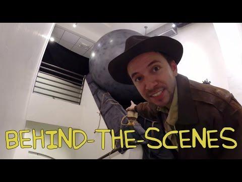 Raiders of the Lost Ark Opening Scene - Homemade w/ Dustin McLean (Behind the Scenes)