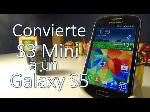 Convierte tu Galaxy S3 mini a un Galaxy S5 (Español Mx)