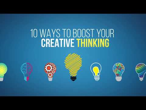 10 Ways to Boost Your Creative Thinking