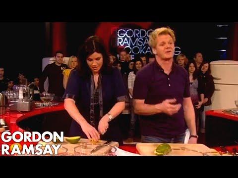 Gordon Shows How to Prepare Prawn Cocktail - Gordon Ramsay