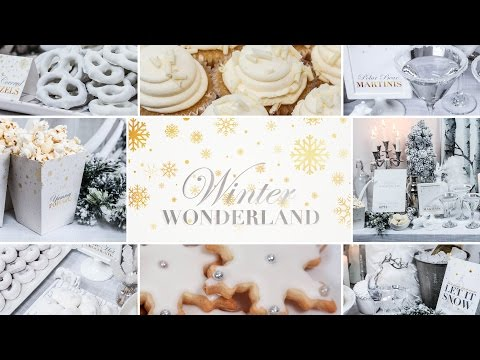 Winter Wonderland Party | Holiday Entertaining Ideas