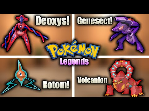 How To Get Genesect Rotom Deoxys And Volcanion I Pokemon Legends I ROBLOX I