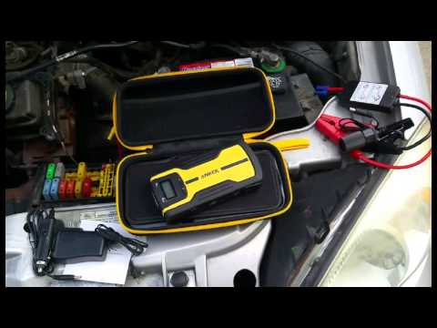 Anker Multi-Functional Car Jump Starter and Portable External Battery Charger Product Review